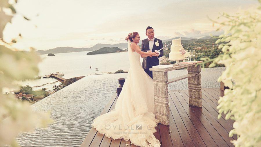 A Beautiful Wedding at Sripanwa Phuket, Thailand 021