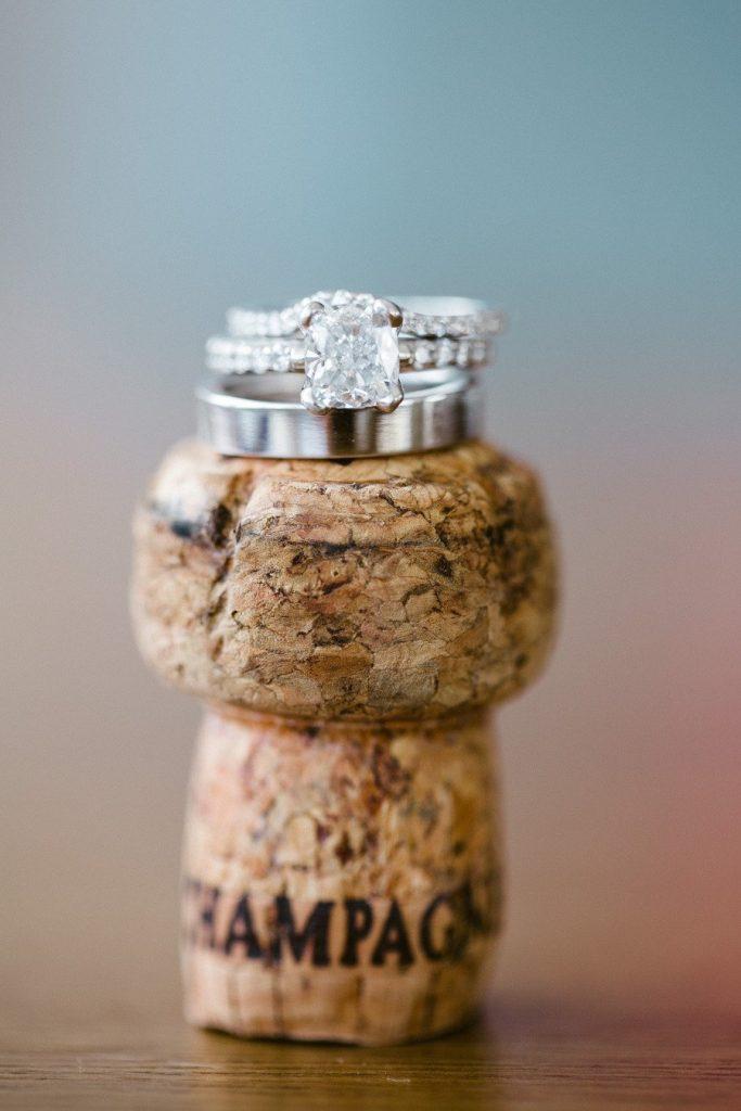 Rings on the Cork Bottle