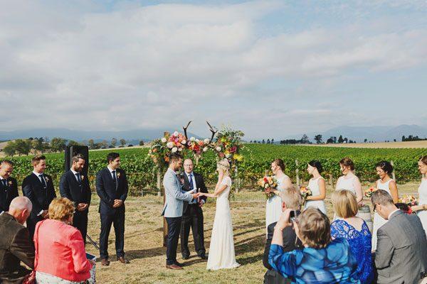 Bohemian Style Wedding 011