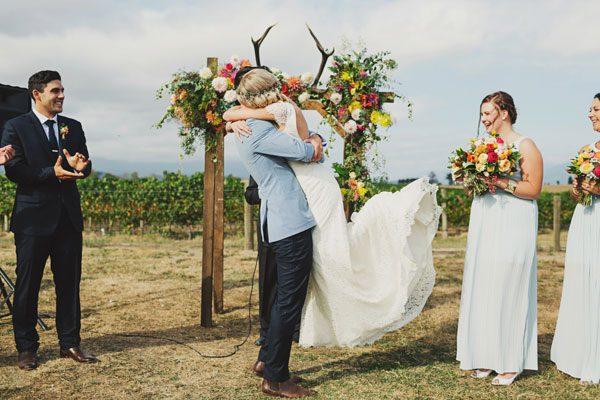 Bohemian Style Wedding 015