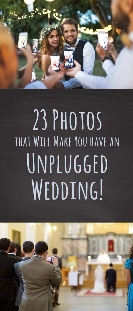 Unpluggeed Weddings. Why you should ban phones!