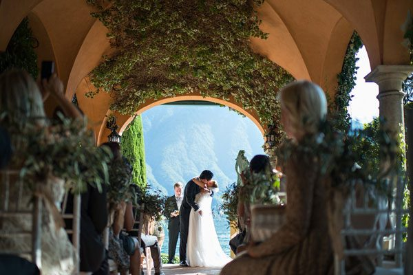 Lake Como Wedding at Villa la Casinella