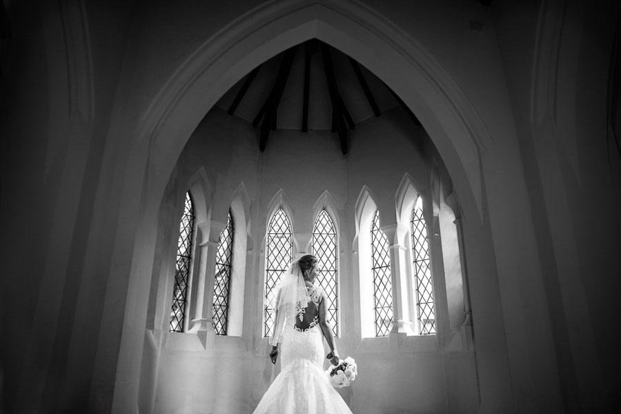 Monastery in Gorton Real Wedding