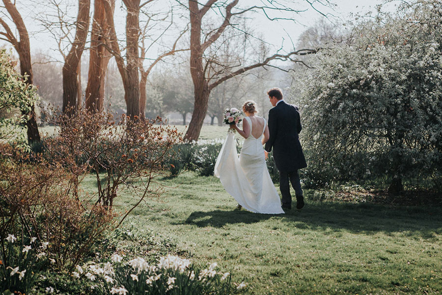 Real Wedding Horsted Place in Uckfield