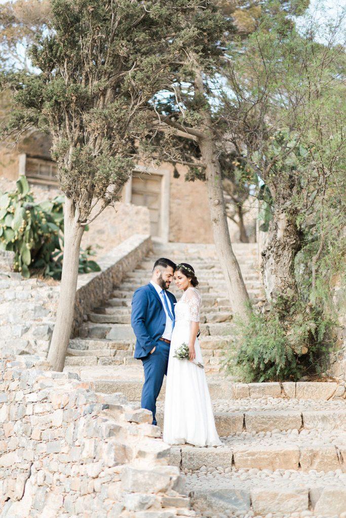 Greece Wedding Portrait Session by Hanna Monika.