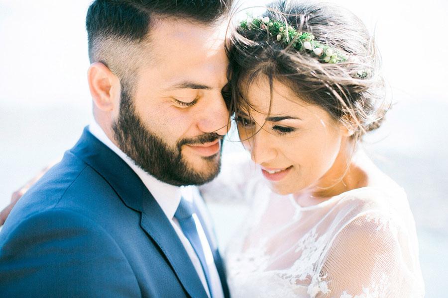 A Unique Wedding Portrait Session