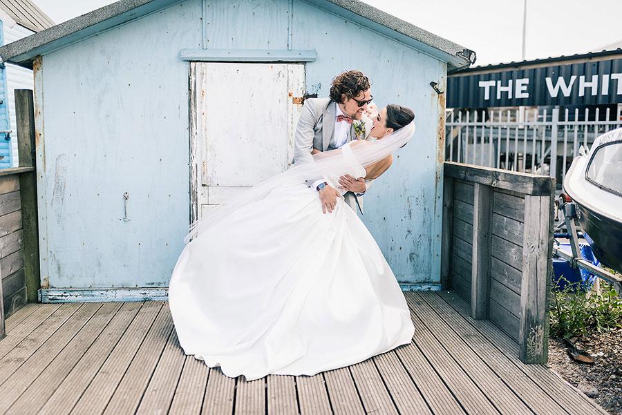 East Quay Wedding of Hetty and Luke