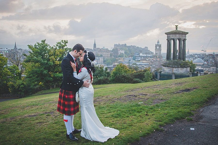 Edinburgh City Wedding