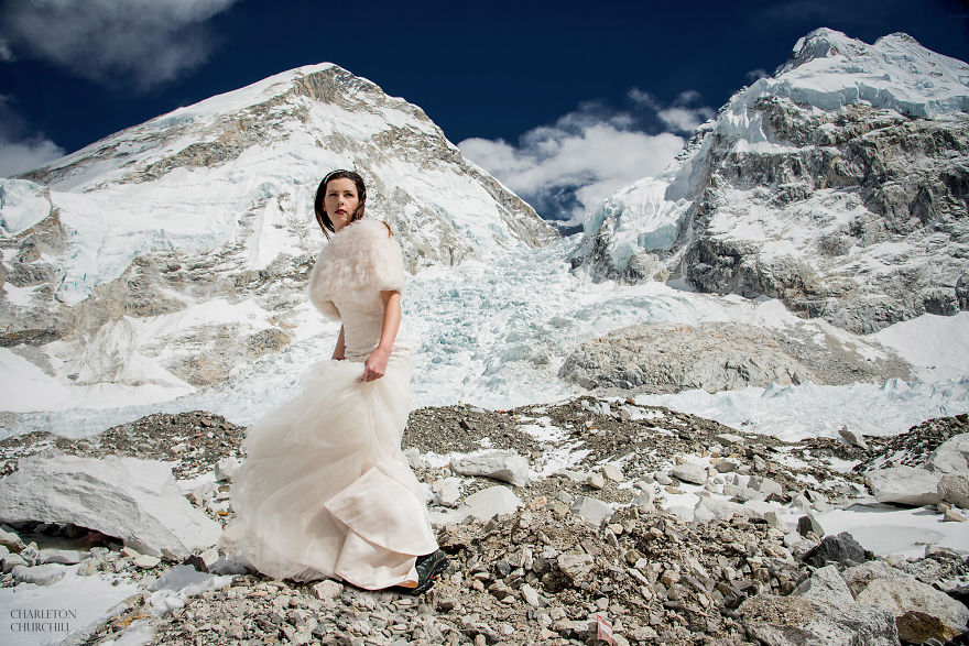 Mount Everest Wedding Photos by Charleton Churchill