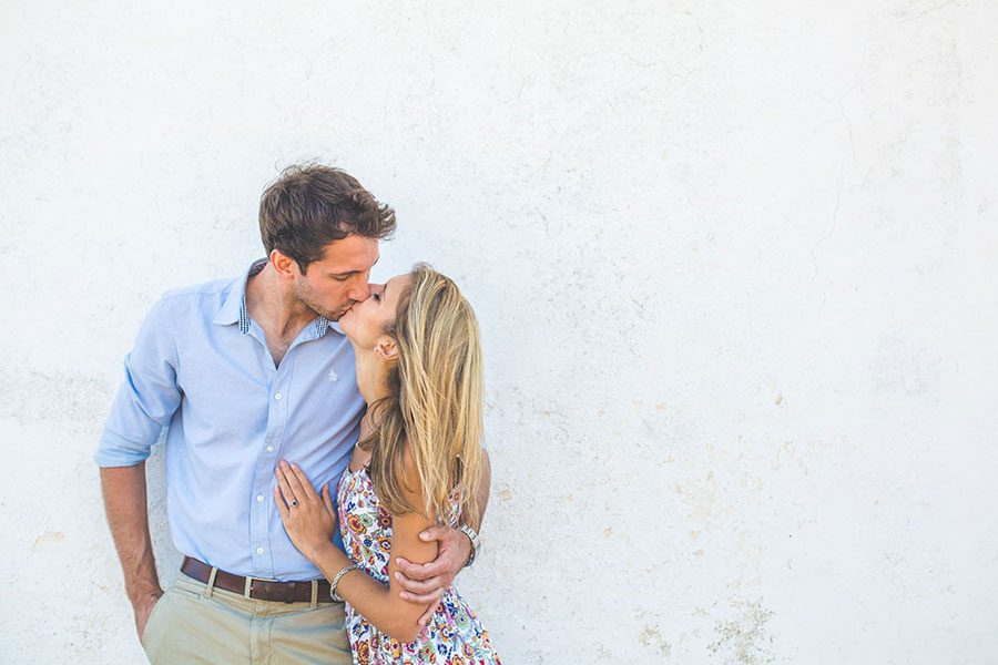 Nick and Ellie's Greece Engagement Shoot