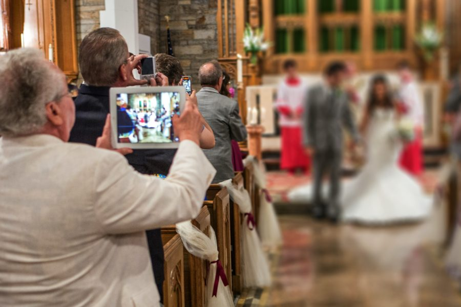 Ban iPads from Weddings