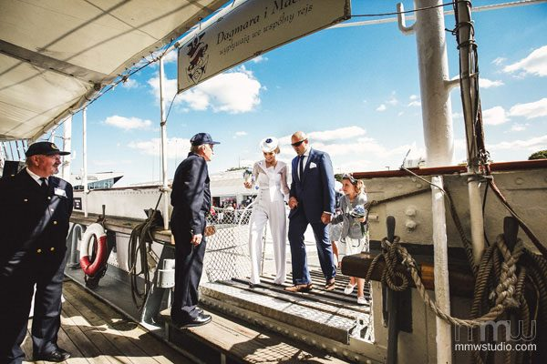 Sailing Yacht Wedding Ceremony 010