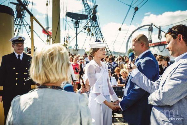 Sailing Yacht Wedding Ceremony 011