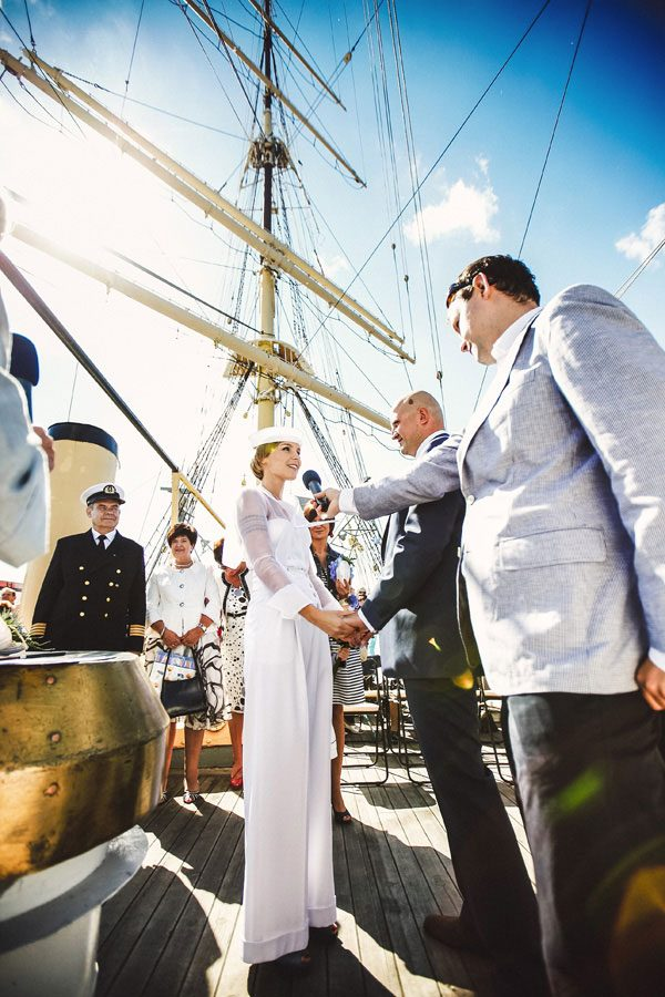 Sailing Yacht Wedding Ceremony 012