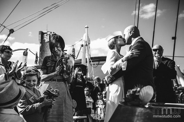 Sailing Yacht Wedding Ceremony 014