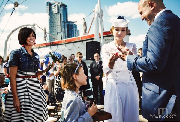 Sailing Yacht Wedding Ceremony 015