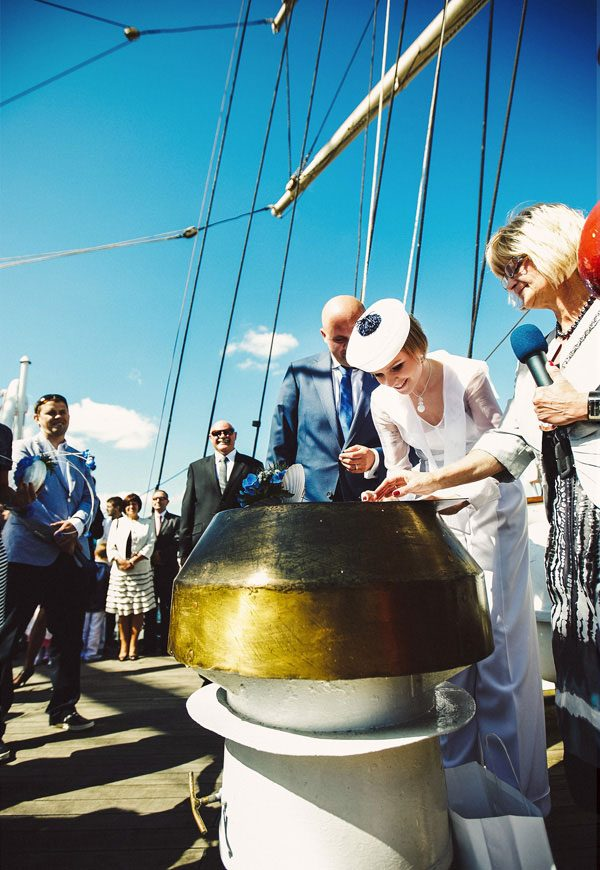 Sailing Yacht Wedding Ceremony 016