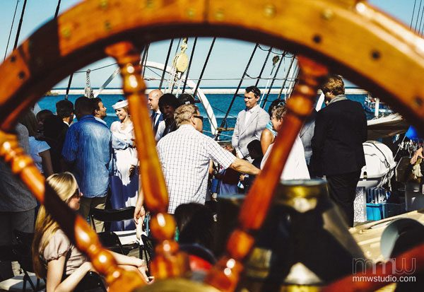 Sailing Yacht Wedding Ceremony 017