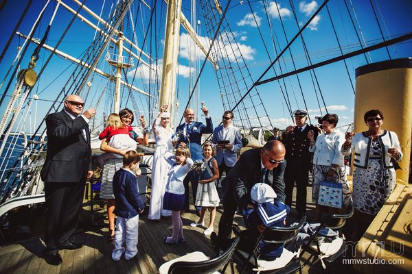 Sailing Yacht Wedding Ceremony 020