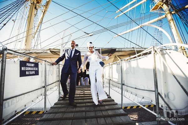 Sailing Yacht Wedding Ceremony 023