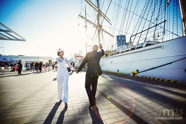 Stunning Sailing Yacht Wedding Ceremony
