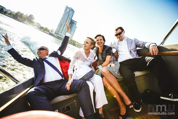 Sailing Yacht Wedding Ceremony 026