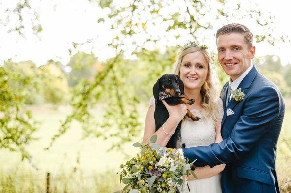 sausage dog wedding
