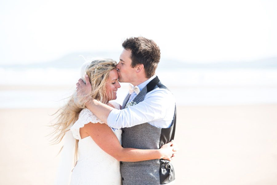 Surfers Wedding in Wales
