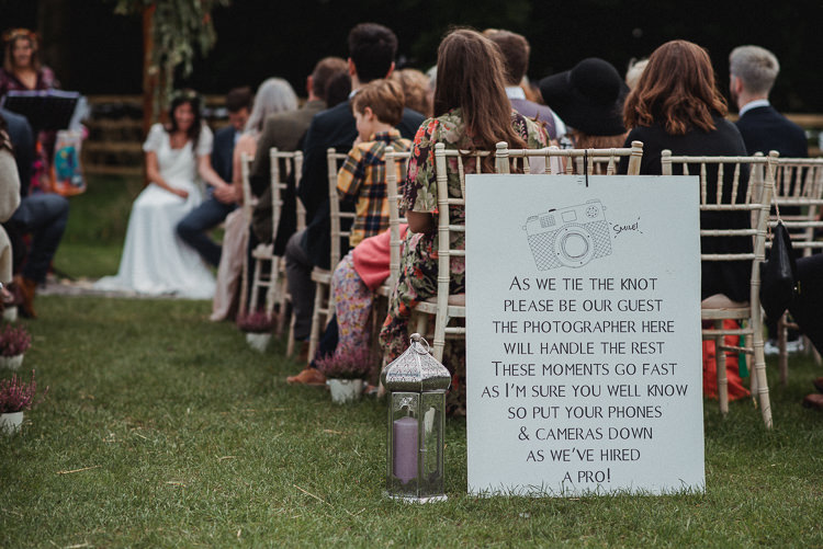 17 Best Unplugged Wedding Sign Ideas Saying No Phones!