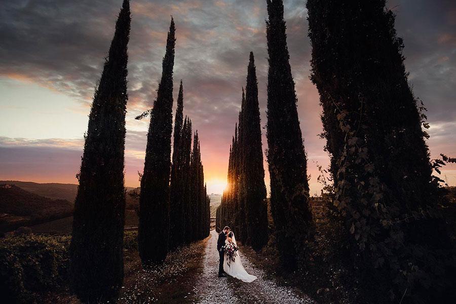 Wedding at Vicchiomaggio Castle