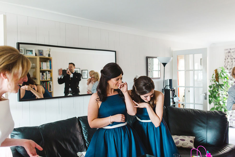 First Look Bridesmaid Priceless Reactions