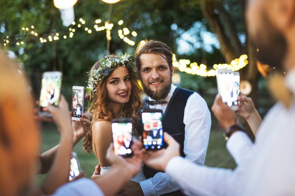 Camera Phones at Weddings. Ahhh!
