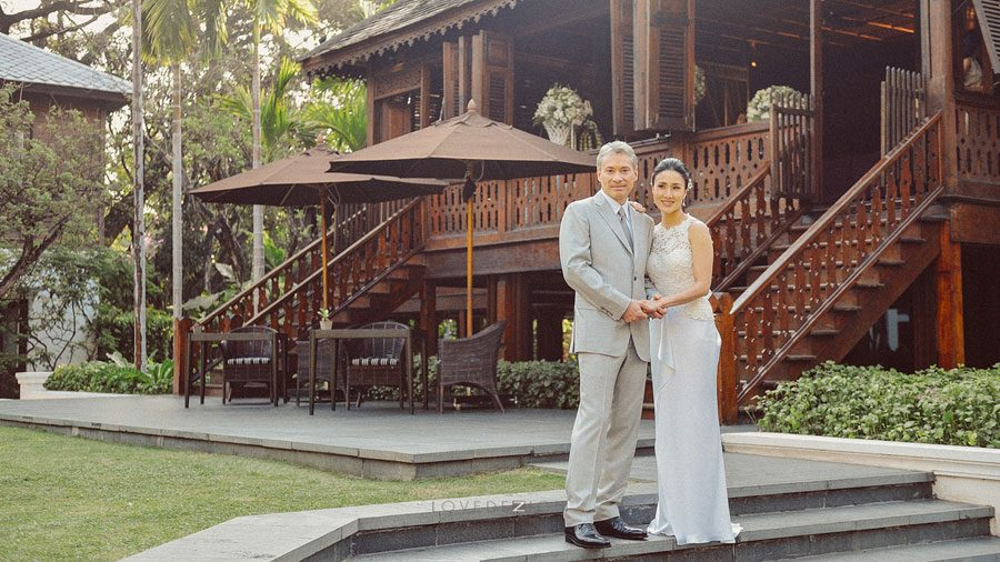 Chiangmai wedding at 137 pillars house