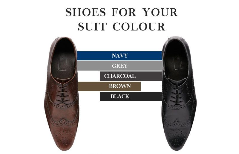 Which shoes for suit colour?