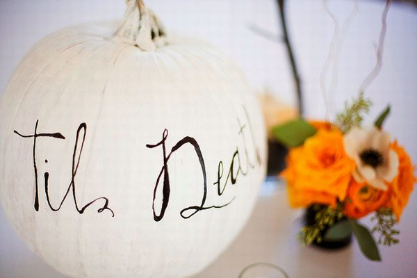 Who Dares to get Married on Halloween?