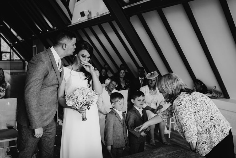 Wood Farm, Everdon Wedding