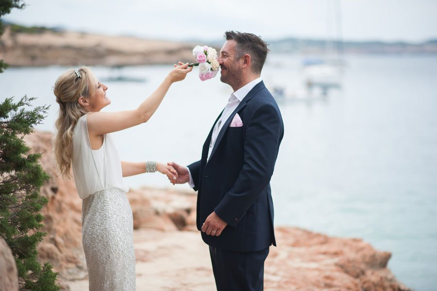 Cala Gracioneta, Ibiza Wedding