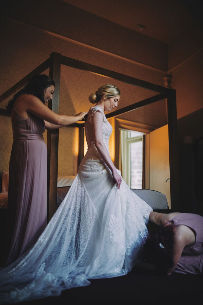 Crown Hotel Wedding, Harrogate