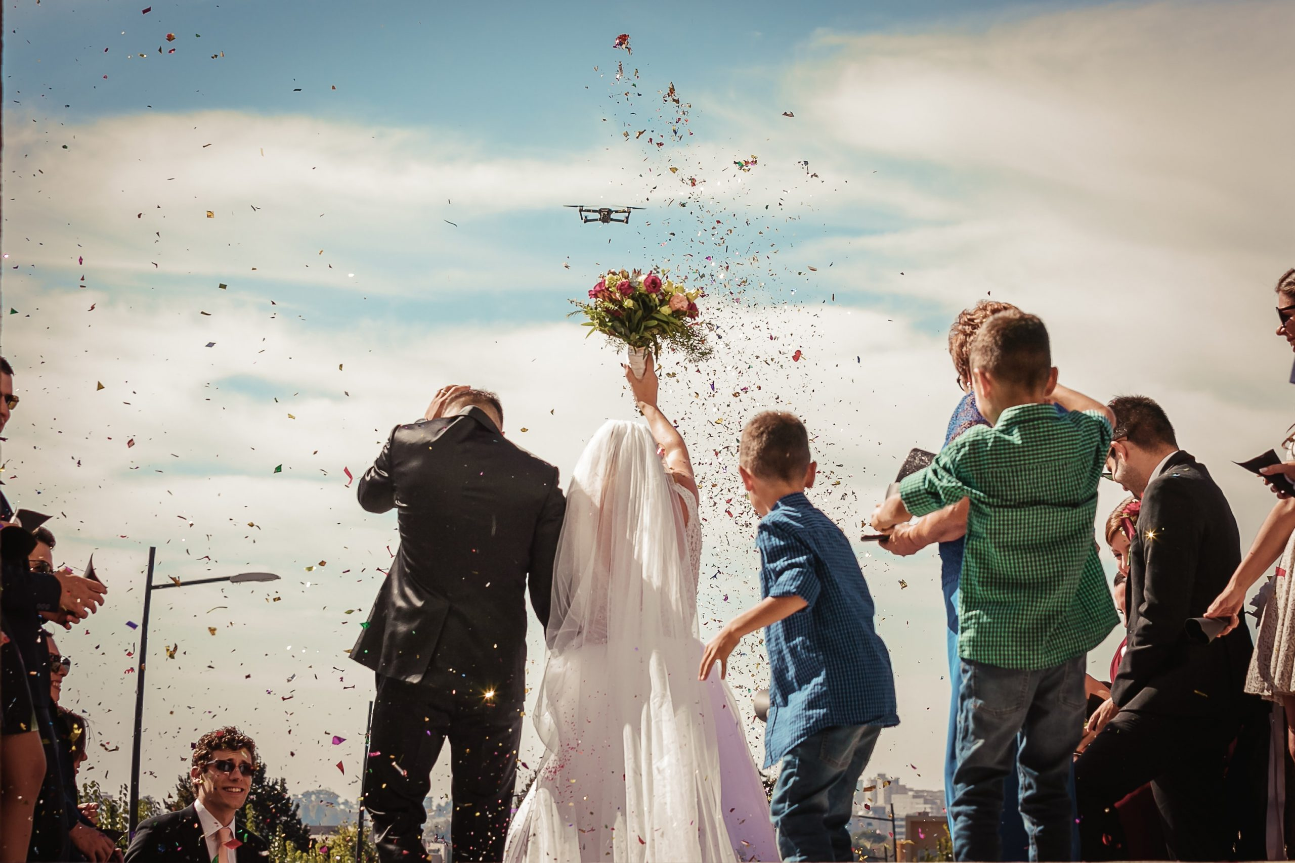 Drone Wedding Photography. Our Guide