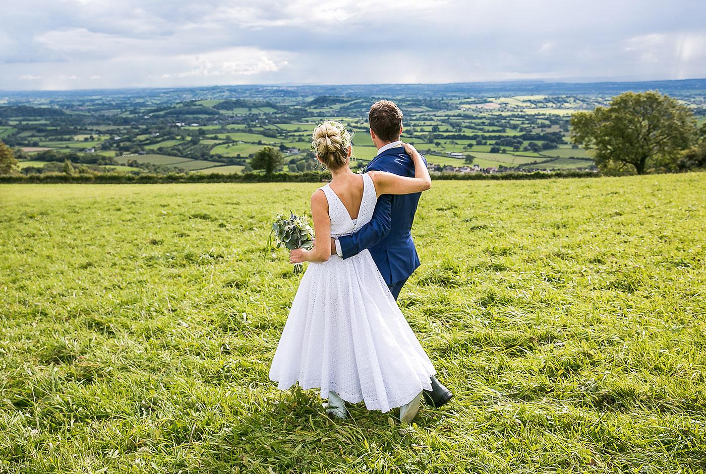 DIY Countryside Marquee Wedding
