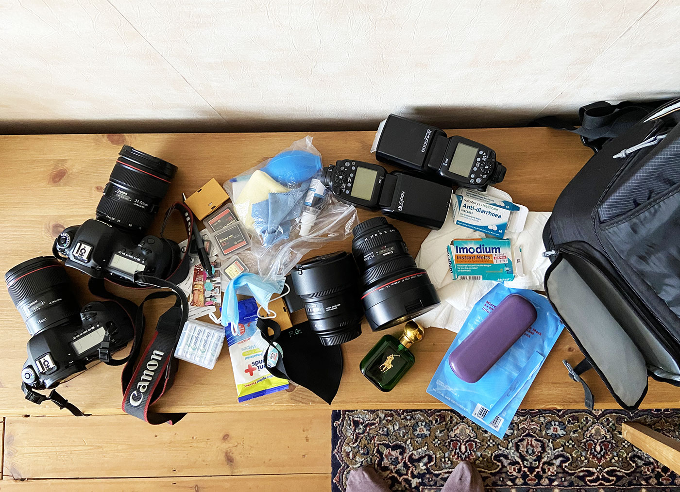 Paul Gapper Kit Bag